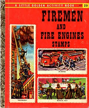 Firemen and Fire Engines A Little Golden: Goldsmith, Jane
