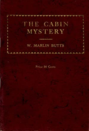 Cabin Mystery Boys Mystery Comedy in Three Acts