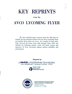 Key Reprints from Avco Lycoming Flyer: Author Unknown