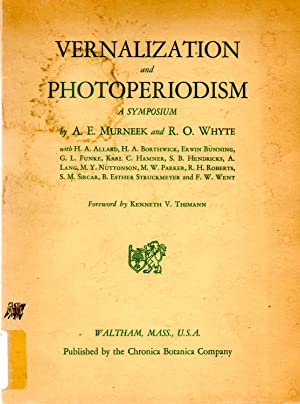 Vernazilization and Photoperiodism A Symposium