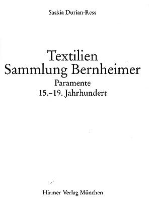 Textilien, Sammlung Bernheimer: Paramente, 15.-19. Jahrhundert: Sammlung Bernheimer; Durian-Ress, ...