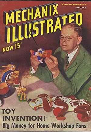 Mechanix Illustrated January 1939: Hertzberg, Robert (editor)