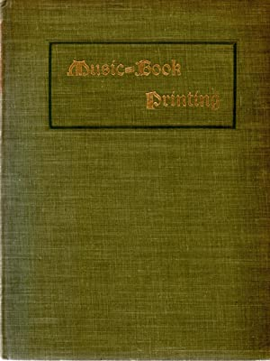 Music Book Printing with Specimens: Author Unknown