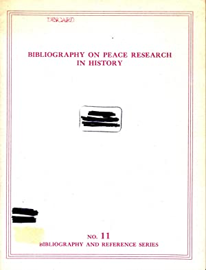 Bibliography on Peace Research in History: Cook, Blanche Wiesen