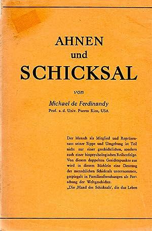 Ahnen Und Schicksal Geschichtsforschung Und Genotropismus: Michael de Ferdinandy and Ernesto ...