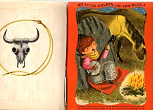 Brave Little Cowboy Bill : A Little Golden Book: Jackson, Kathryn and Byron
