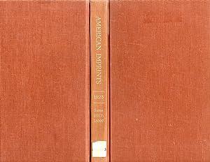 A Checklist of American Imprints 1823: Shoemaker, Richard H.