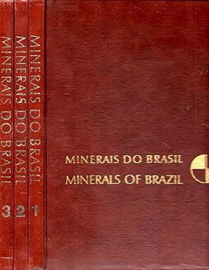 Minerais Do Brasil Minerals of Brazil 3 Volume Set: Franco, Rui Ribeiro; Alsedo Leprevost; Joao ...