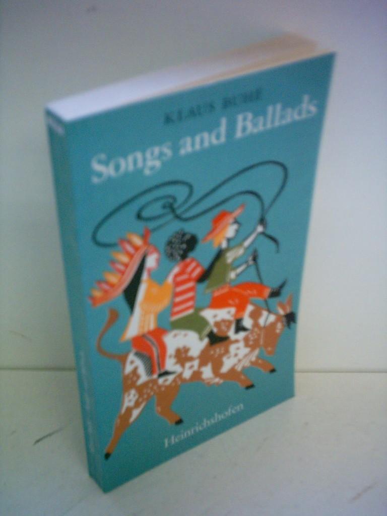 Songs and Ballads - Eine Sammlung der: Buhe, Klaus: