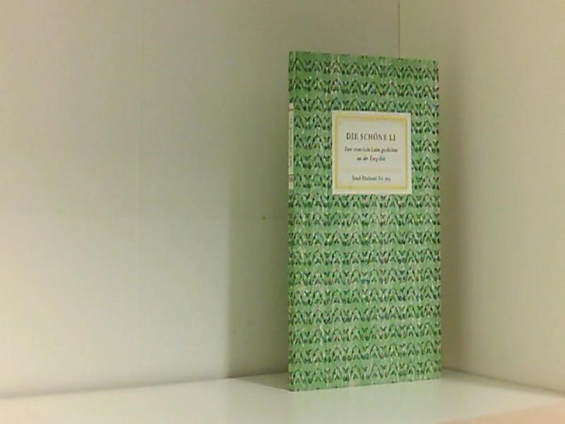 Die Schöne Li - Hrsg.) Kuhn, Franz