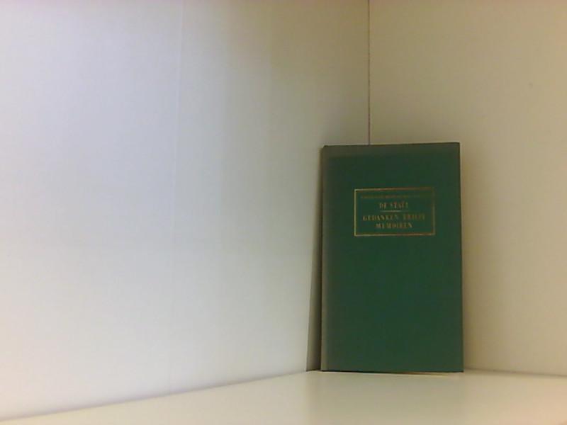 Gedanken, Briefe, Memoiren - Louise Germaine de Stael-Holstein, Anne