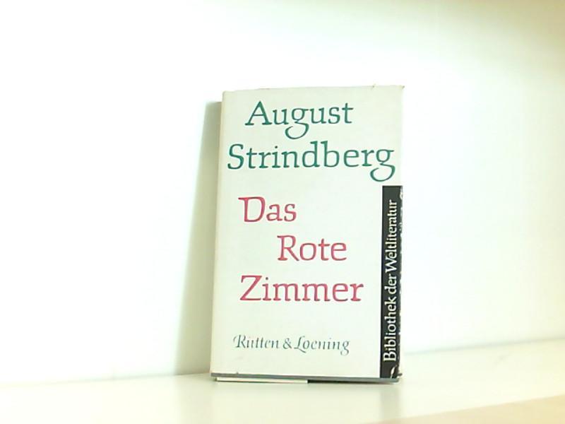 Das Rote Zimmer - Schilderungen aus dem: Strindberg, August: