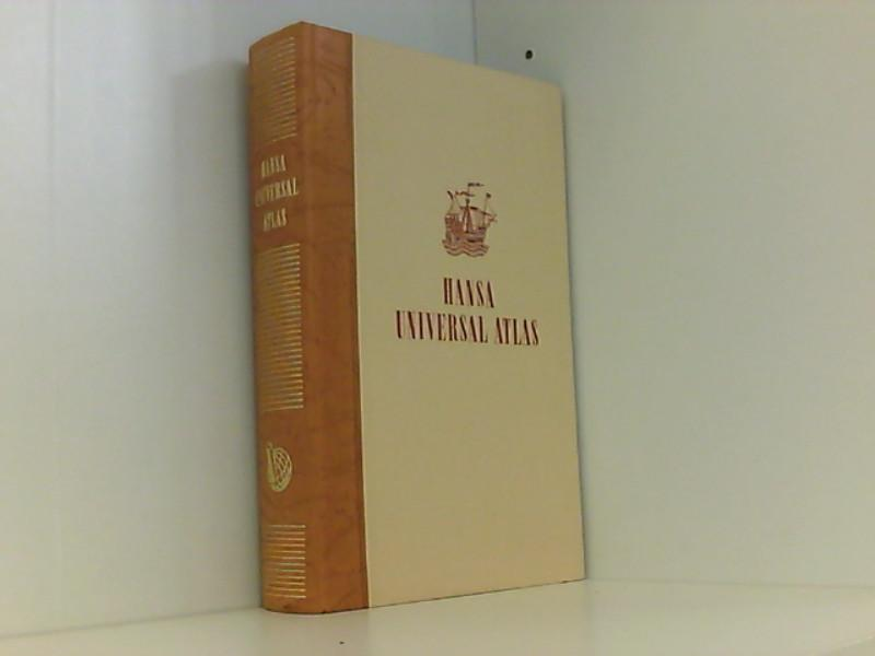 Hansa Universal-Atlas . ( 2. Auflage 1958: Muris, Oswald: