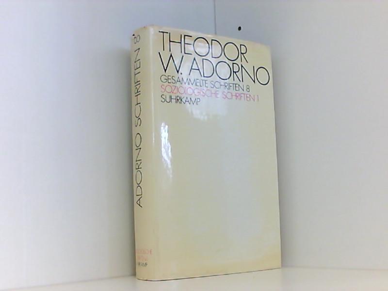 Adorno gesammelte schriften tiedemann investment ladner investments wiggins ms real estate
