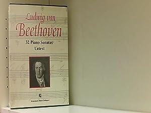 32 Klaviersonaten, in 3 Bdn. (Music Scores): van Beethoven, Ludwig: