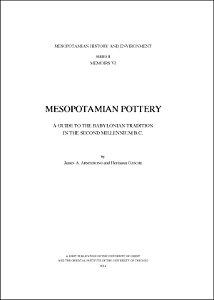 Mesopotamian Pottery: A Guide to the Babylonian: Armstrong, James A.;