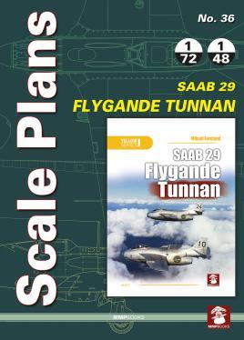 Scale Plans No. 36. SAAB 29 Flygande: Karnas, Dariusz