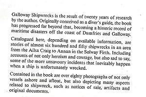 Galloway Shipwrecks: Miller, Peter C.