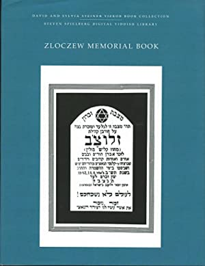 Zloczew Memorial Book