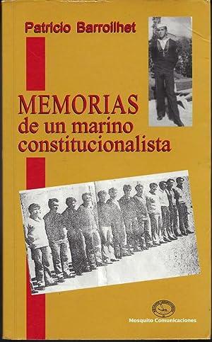 Memorias de un marino constitucionalista: Barroilhet, Patricio