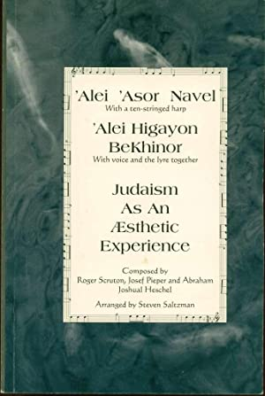 Judaism as an Aesthetic Experience