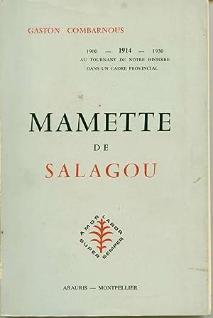 Mamette de Salagou: Combarnous, Gaston