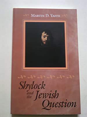 Shylock And The Jewish Question