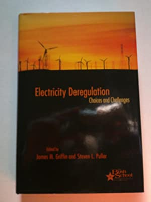 Electricity Deregulation - Choices And Challenges