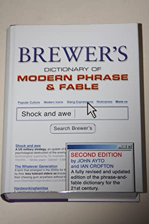 Brewer's - Dictionary Of Modern Phrase & Fable