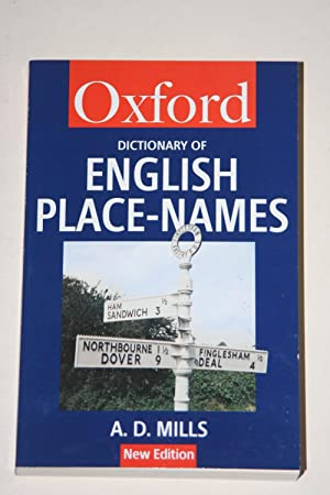 Dictionary Of English Place-Names