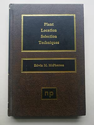 Plant Location Selection Techiques