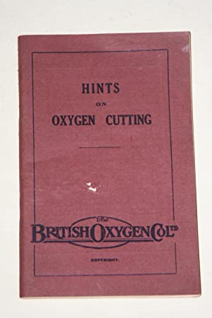 Hints On Oxygen Cutting