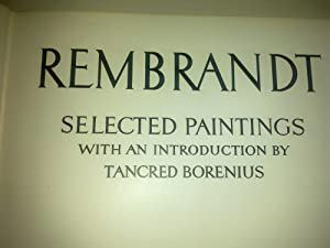 Rembrandt - Selected Paintings