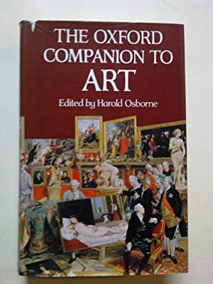 The Oxford Companion To Art