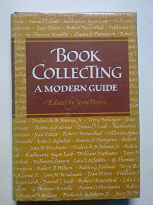 Book Collecting - A Modern Guide