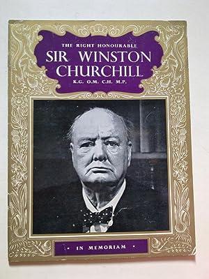 The Right Honourable Sir Winston Churchill -