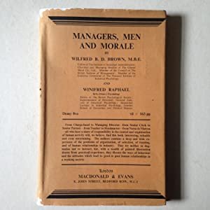 Managers, Men And Morale