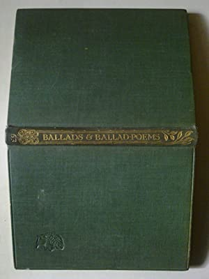 Ballads And Ballad Poems