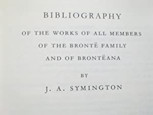 The Shakespeare Head Bronte - The Bibliography