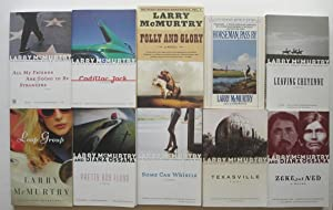 10 Book LOT: All My Friends are: McMurtry, Larry