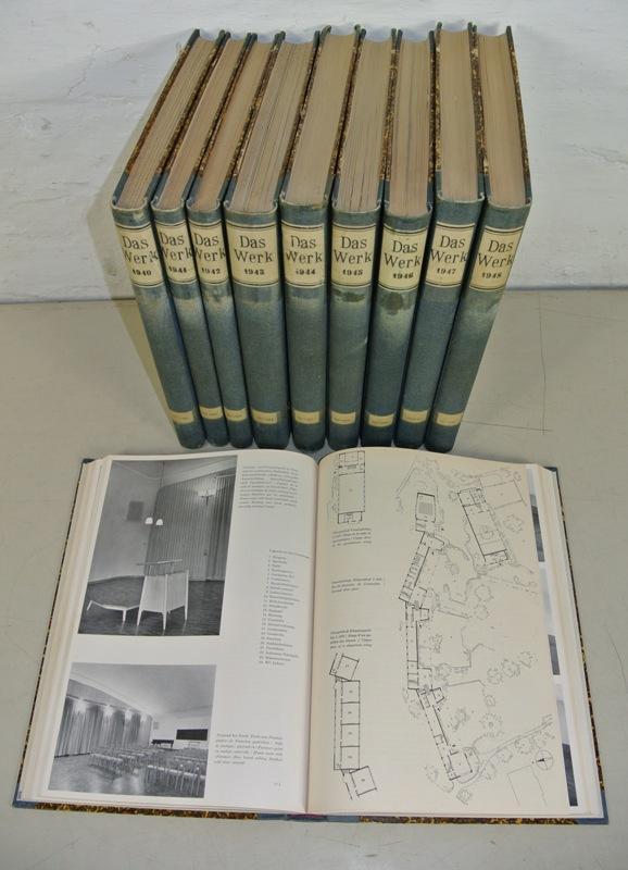 DAS WERK. Schweizer Monatsschrift für Architektur, freie Kunst, angewandte Kunst. Sammlung: 27...
