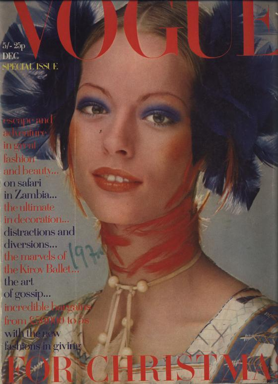 VOGUE, No. 16, December 1970. London. Special Issue, for Christmas.