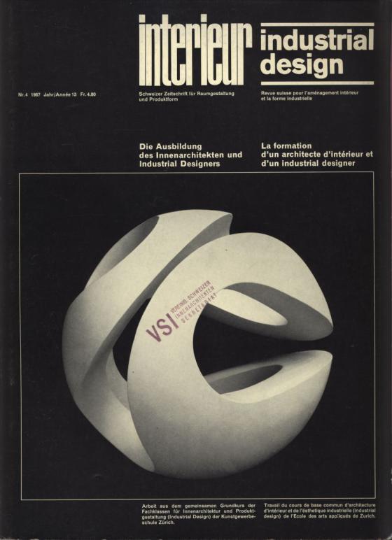 die ausbildung des innenarchitekten in der schweiz, in: interieur, Innenarchitektur ideen