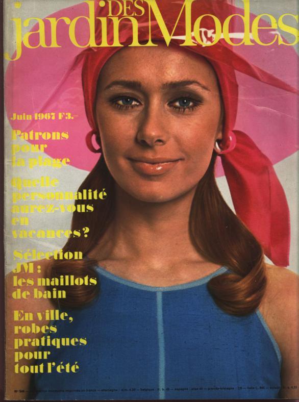 JARDIN DES MODES, Juin 1967. Patrons pour