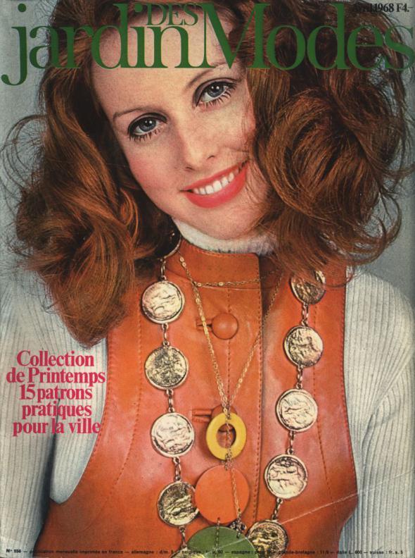 JARDIN DES MODES, Avril 1968. Collections de