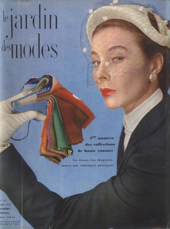 LE JARDIN DES MODES, Mars 1951. No.