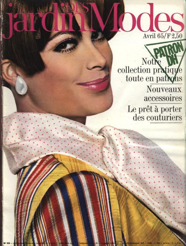JARDIN DES MODES, Avril 1965. Notre collection