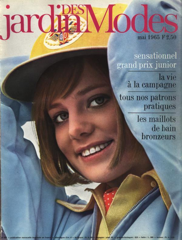 JARDIN DES MODES, Mai 1965. Sensationnel grand