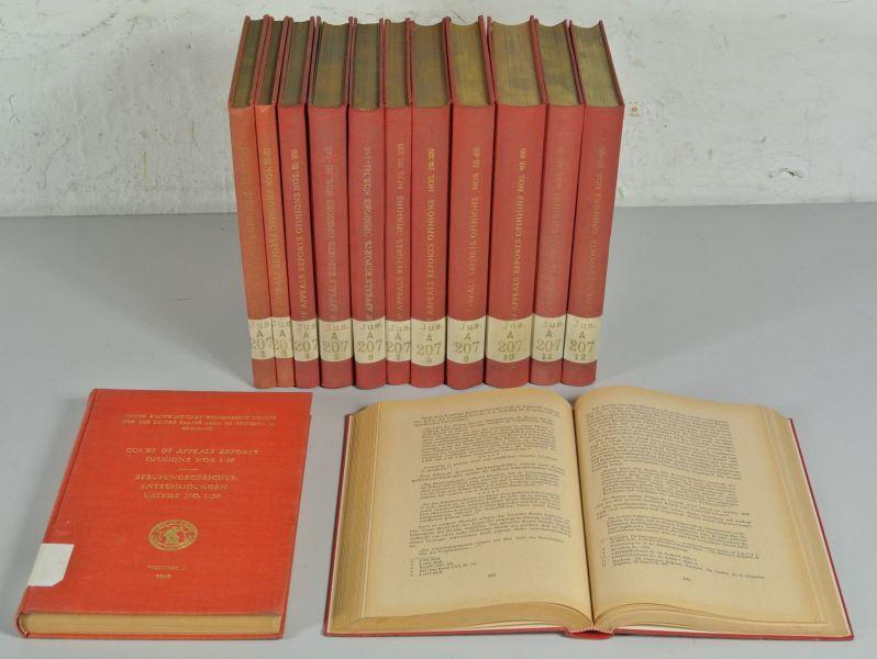 Berufungsgerichts-Entscheidungen. Band 1 (1949) bis 13 (1951/52), enthält Urteile No. 1 ...