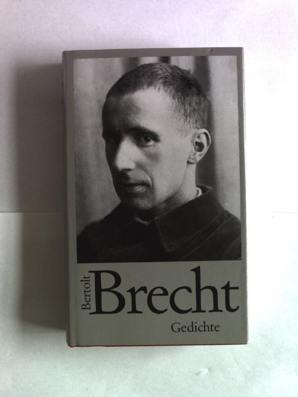 Bertolt Brecht Werke: Gedichte.: Brecht, Bertolt: